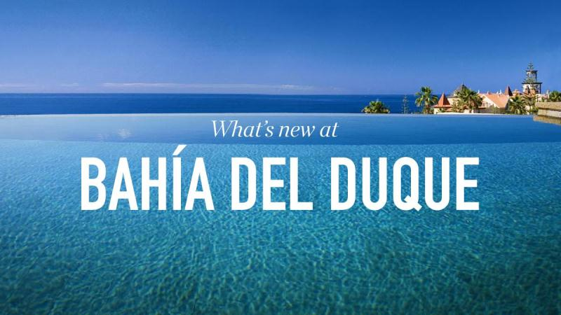 What's new at Bahia del Duque!