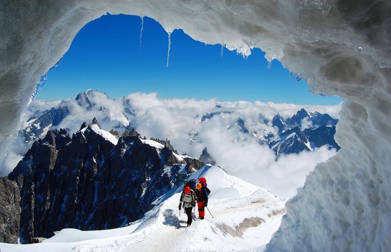 Spectacular Mont Blanc.