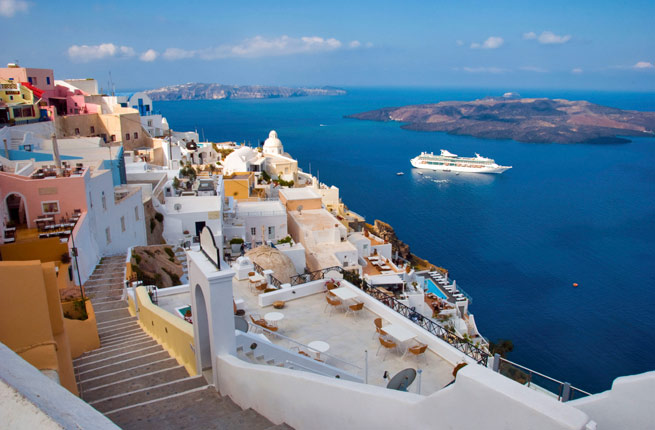 Greek Isles Fly Cruise from Dublin 2018