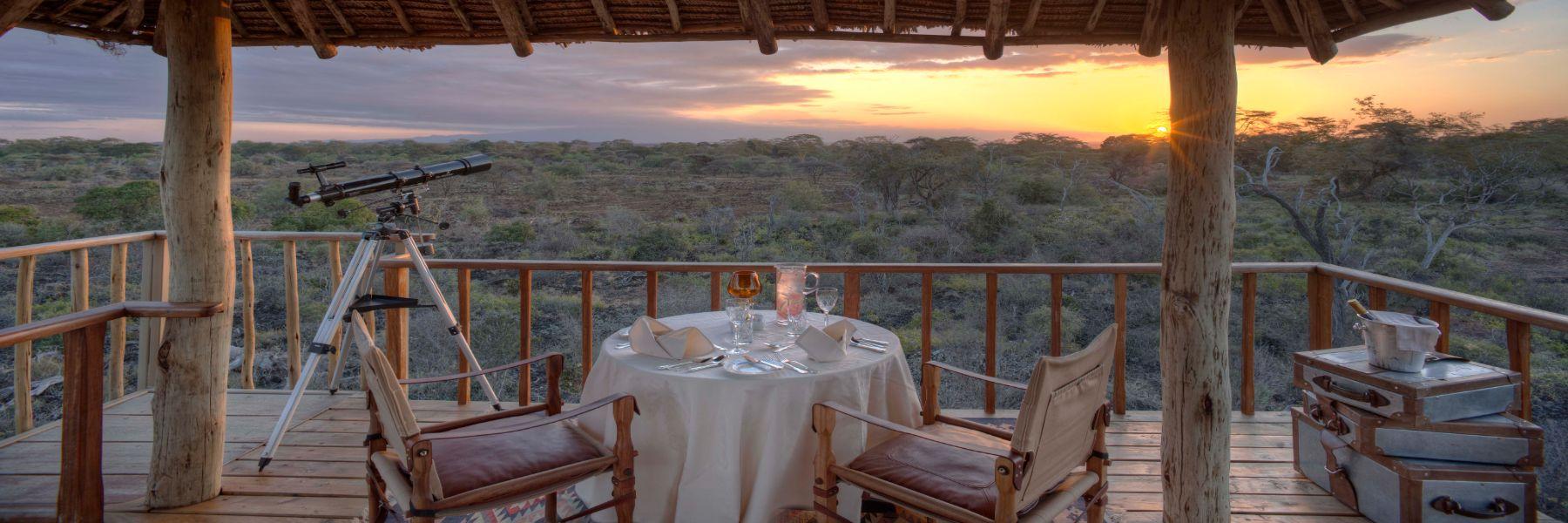 Safari - Finch Hatton lookout