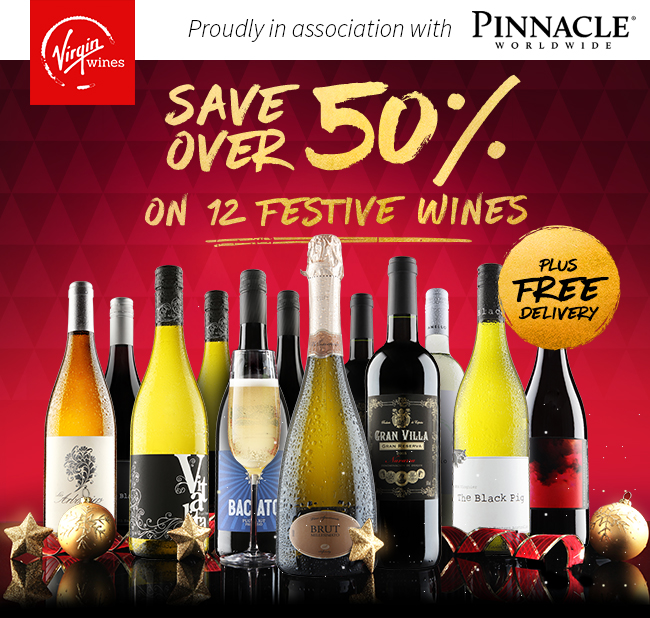 Pinnacle Christmas Offer – Save Over 50% on 12 Stunning Wines