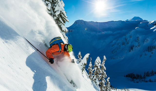 How to Ski powder snow